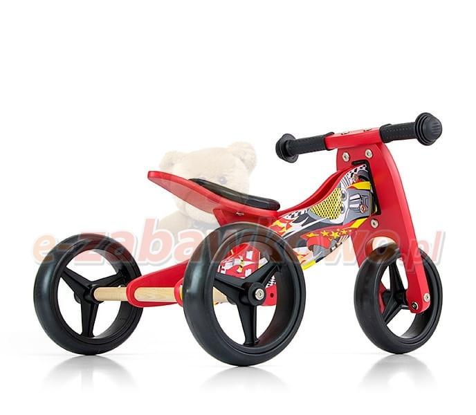 Milly Mally Rowerek Biegowy 2w1 Jake Red Cars Rowerki Biegowe