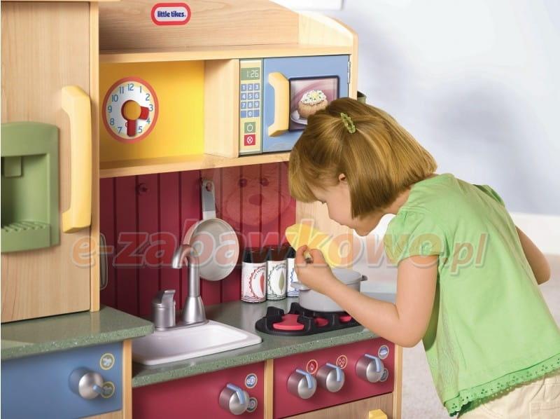 Little Tikes Mega Kuchnia Do Zabawy Drewniana 618697