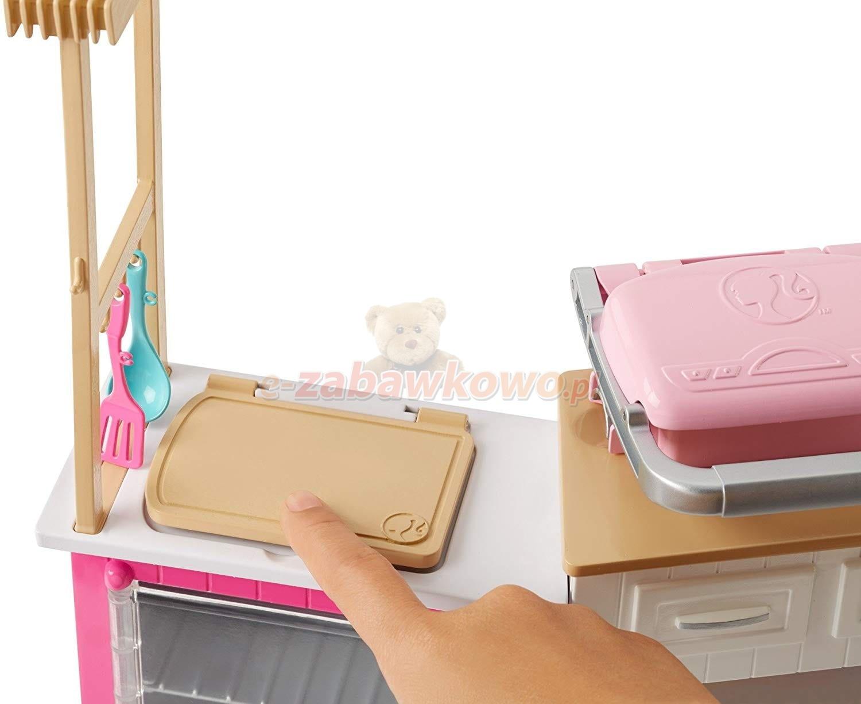 Mattel Zestaw Idealna Kuchnia I Lalka Barbie Frh73