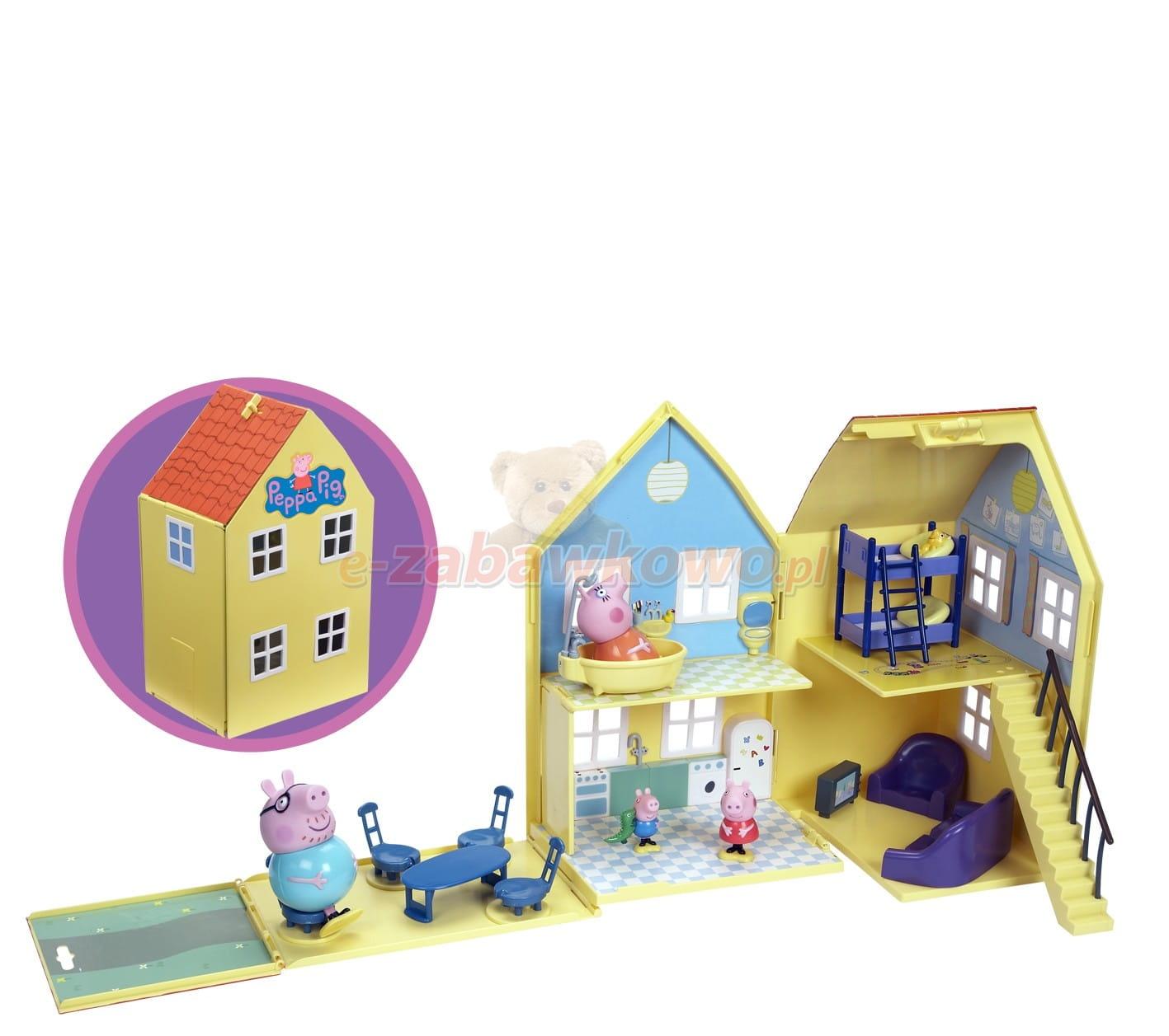 Свинка пеппа домик на дереве игрушки видео