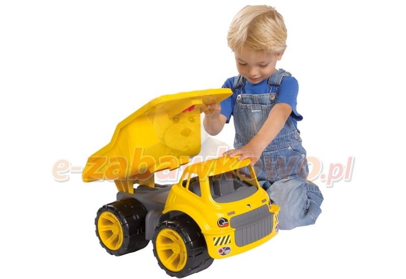 big power worker du a ci ar wka maxi truck 55810 ci ar wki budowlane sklep z zabawkami e. Black Bedroom Furniture Sets. Home Design Ideas
