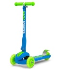MILLY MALLY HULAJNOGA MAGIC SCOOTER BLUE-GREEN