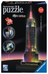 RAVENSBURGER PUZZLE 3D EMPIRE STATE BUILDING NOCĄ LED 216el. 125661
