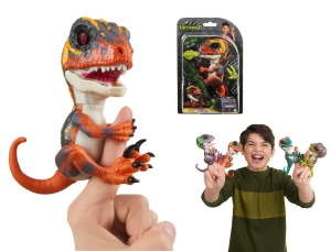 WOWWEE FINGERLINGS UNTAMED INTERAKTYWNY DINOZAUR BLAZE 3781