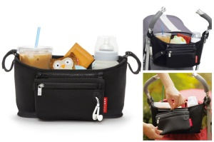 SKIP HOP ORGANIZER DO WÓZKA GRAB & GO BLACK 400304