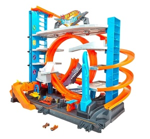 MATTEL HOT WHEELS CITY MEGA GARAŻ REKINA FTB69