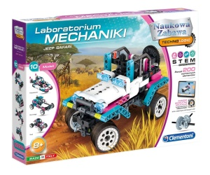 CLEMENTONI LABORATORIUM MECHANIKI - JEEP SAFARI 50123