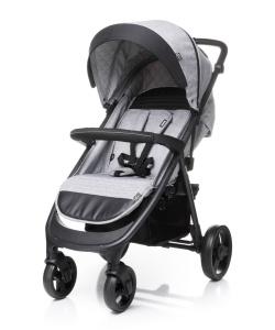 4BABY WÓZEK SPACEROWY QUICK LIGHT GREY