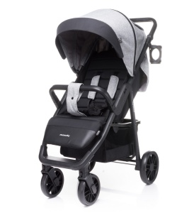 4BABY WÓZEK SPACEROWY MOODY LIGHT GREY DO 22KG KOLEKCJA 2020