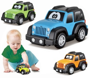 BBURAGO JUNIOR MINI AUTKO JEEP WRANGLER 85121