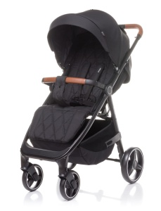 4BABY WÓZEK SPACEROWY STINGER DO 22 KG BLACK