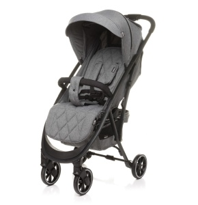 4BABY WÓZEK SPACEROWY SMART 2.0 GREY DO 22 KG