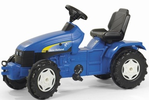 ROLLY TOYS TRAKTOR NA PEDAŁY NEW HOLLAND 3-8 LAT 036219