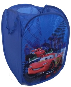 DISNEY KOSZ NA ZABAWKI POP UP CARS PLN-012CR