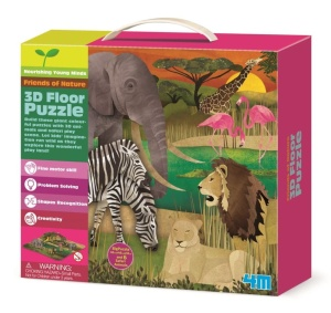 4M SERIA JUNIOR PUZZLE 3D SAFARI 4679