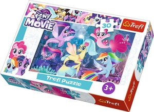 TREFL PUZZLE 30el. MY LITTLE PONY DOŁĄCZ DO ZABAWY 18216