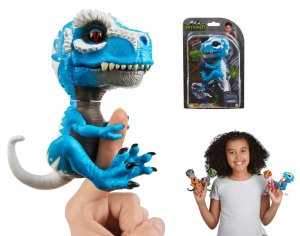 WOWWEE FINGERLINGS UNTAMED INTERAKTYWNY DINOZAUR T-REX IRONJAW 3785