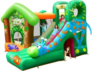 HAPPYHOP PLAC ZABAW DMUCHANIEC JUNGLE FUN 9139