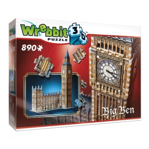TACTIC WREBBIT PUZZLE 3D BIG BEN 890el. 02002