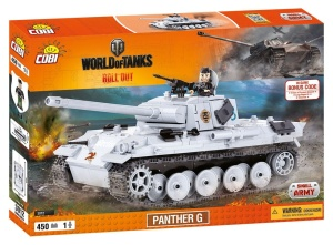 COBI KLOCKI SMALL ARMY WORLD OF TANKS CZOŁG PANTHER G 450el. 3012