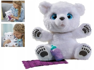 HASBRO FURREAL FRIENDS MIŚ POLARNY B9073