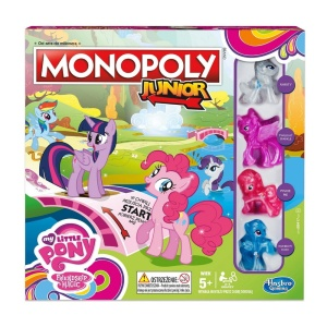 HASBRO GRA PLANSZOWA MONOPOLY JUNIOR MY LITTLE PONY B8417