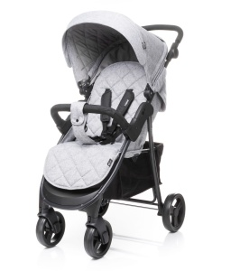 4BABY WÓZEK SPACEROWY RAPID LIGHT GREY