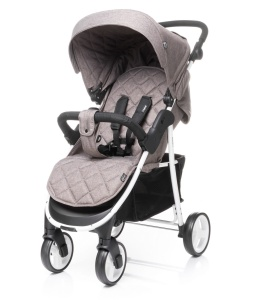 4BABY WÓZEK SPACEROWY RAPID BROWN