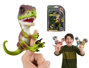 WOWWEE FINGERLINGS UNTAMED INTERAKTYWNY DINOZAUR STEALTH 3782