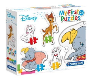 CLEMENTONI MOJE PIERWSZE PUZZLE 3-6-9-12el. DISNEY ANIMAL FRIENDS 20806