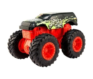 MATTEL HOT WHEELS MONSTER TRUCKS SAMOCHÓD POJAZD Z KRAKSĄ SPLATTER TIME 1:43 GCF96