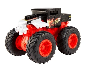 MATTEL HOT WHEELS MONSTER TRUCKS SAMOCHÓD POJAZD Z KRAKSĄ BONE SHAKER 1:43 GCF95