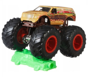 MATTEL HOT WHEELS MONSTER TRUCKS SAMOCHÓD POJAZD ALL BEEFED UP 1:64 GBT59