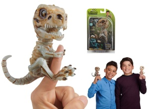 WOWWEE FINGERLINGS UNTAMED INTERAKTYWNY DINOZAUR SZKIELET DOOM 3981