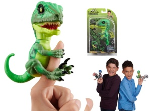 WOWWEE FINGERLINGS UNTAMED INTERAKTYWNY DINOZAUR HAZARD 3881
