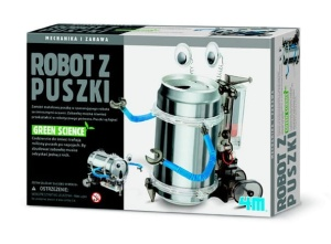 4M GREEN SCIENCE ROBOT Z PUSZKI 3270