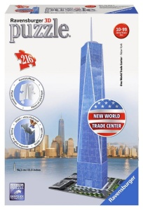 RAVENSBURGER PUZZLE 3D ONE WORLD TRADE CENTER 216el. 125623