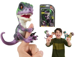 WOWWEE FINGERLINGS UNTAMED INTERAKTYWNY DINOZAUR RAZOR 3784