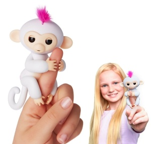 WOWWEE FINGERLINGS INTERAKTYWNA MAŁPKA SOPHIE 3702A