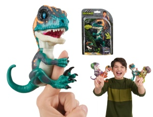 WOWWEE FINGERLINGS UNTAMED INTERAKTYWNY DINOZAUR FURY 3783