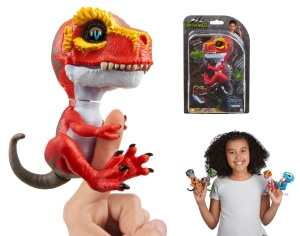 WOWWEE FINGERLINGS UNTAMED INTERAKTYWNY DINOZAUR T-REX RIPSAW 3786