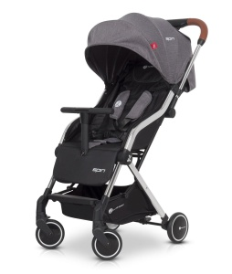 EURO-CART WÓZEK SPACEROWY SPIN ANTHRACITE