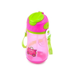 TRUNKI BIDON ZE SŁOMKĄ 400ML TRIXIE 0295