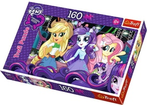TREFL PUZZLE 160el. MY LITTLE PONY EQUESTRIA GIRLS NA BALU 15311