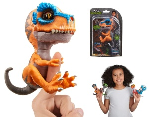 WOWWEE FINGERLINGS UNTAMED INTERAKTYWNY DINOZAUR T-REX SCRATCH 3787