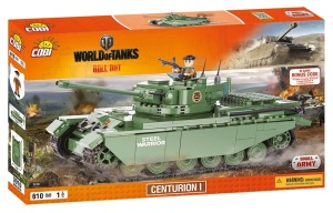 COBI KLOCKI SMALL ARMY WORLD OF TANKS CZOŁG CENTURION I 610el. 3010