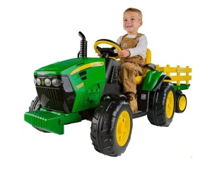 PEG PEREGO TRAKTOR NA AKUMLATOR JOHN DEERE POWER PULL GROUND 12 V IGOR0047