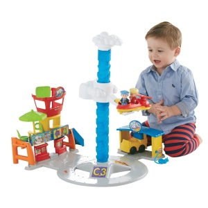 FISHER PRICE LITTLE PEOPLE ZESTAW LOTNISKO DGN30