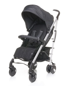 4BABY WÓZEK SPACEROWY CROXX DARK GREY