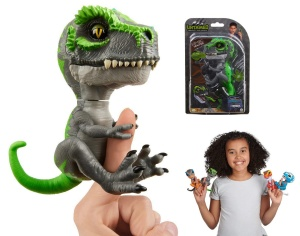 WOWWEE FINGERLINGS UNTAMED INTERAKTYWNY DINOZAUR T-REX TRACKER 3788